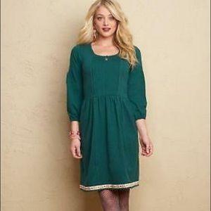 Matilda Jane Nadine Fancy Charlie Green Dress | M